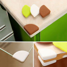 4Pcs/Set Household Safety Protection Angle Silicone Multipurpose Anti-collision Table Corner Home Furniture Accessories DYY2161