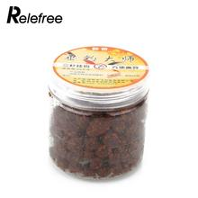 Relefree 180 Pieces/ Box Fishing Bait Liver Meat Fermented Taste Carp Herring Catfish Blackfish Fishing Lure Bait