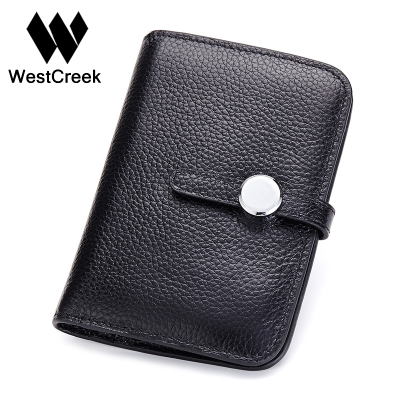 Westcreek Brand Men Fashion Vertical Section of the Passport Wallet Simple Design Buckle Genuine Leather Ladies Purse<br><br>Aliexpress