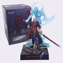 EZHOBI TOYS Devil May Cry 4 NERO Pre-painted Collectible Figure 32cm EMS Free Shipping(China)