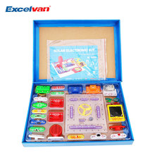 High Quality Educational Toys Electronics Blocks kit Kids Toys Snap circuits Electronics Discovery Kit Science Educational Toy(China)