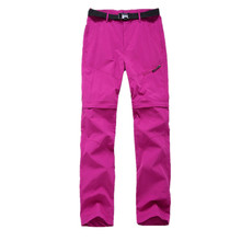 Buy Dropshipping2018 Women Quick Dry Removable Pants Spring Summer Hiking Pants Brand Sport Outdoor Trouser Female Fishing Trekking for $14.11 in AliExpress store