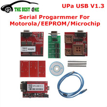 2016 Newest V1.3 UPA USB Serial Programmer Full Adapters UPA-USB V 1.3 Auto ECU Chip Tuning Tool For Eeprom 24C 25C 93C 95......