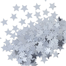 1000pcs Stars Table Confetti Sprinkles Birthday Party Wedding Decoration Sparkle Blue Gold Silver Green Metallic Stars Supply