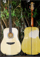 STANSEN Full solid wood, solid santos rosewood guitar, High quality hand craft Acoustic guitar, guitarra(China)