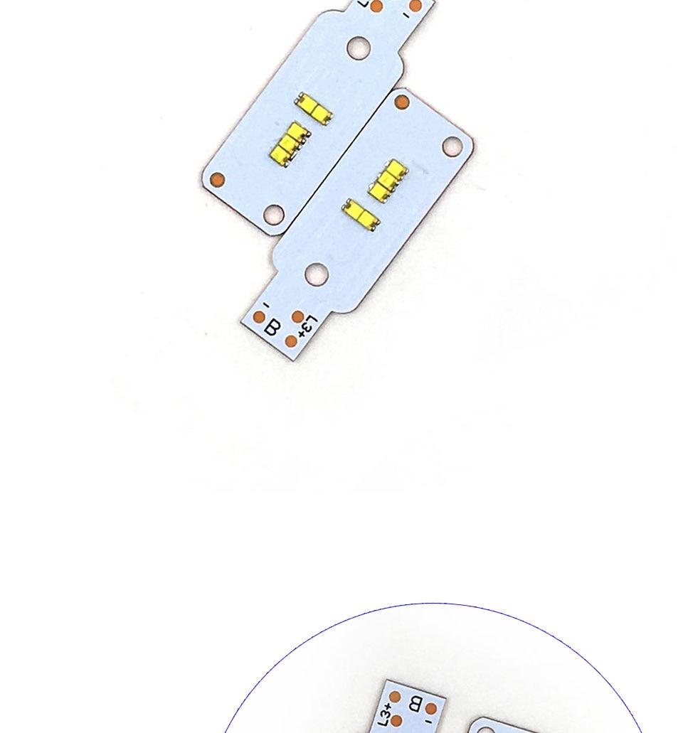 ZES COB LED Chip for X3 Car Headlight Bulbs H1 H3 H4 H7 9005 9006 880 H13 9004 9007 Auto Headlamp Light Source X3 ZES Chip (7)