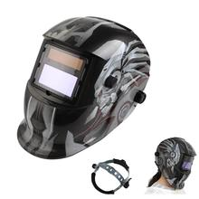 Auto Darkening Welding Helmet TIG MIG Weld Welder Lens Grinding Solar Powered Welding Mask For Welding Machine or Plasma Cutter(China)