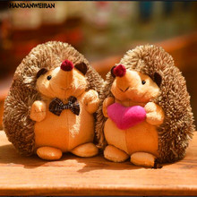 2pcs/lot the hedgehog doll plush toys wholesale wedding gifts birthday 18cm