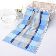 AsyPets Luxury Bath Towel 100% Cotton Plaid Large Hand Face Hair Bathroom Towels Home Use 74*34cm-35(China)
