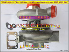 Free Ship Turbocharger TD06 TD06H-16M 49179-02300 5I-8018 Turbo For Caterpillar Excavator 320B 320C 320L Engine S6KT Diesel(China)