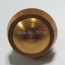 ELEWIND 12mm Dome head Golden color Aluminum aluminum anodized push button switch (PM121B-10/J/A/Golden color)(China)