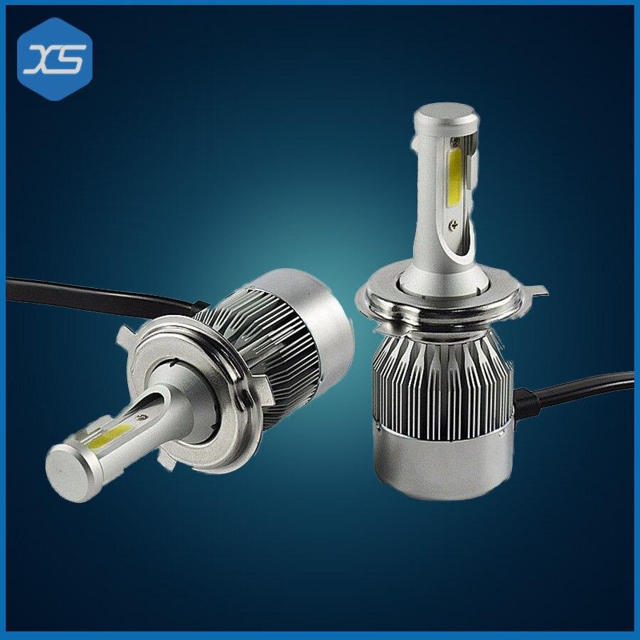H4 Led Headlight Cars High Low Beam 72W 6000K H13 9004/9007 Fog Light LED Lamp Car-Styling LED Bulbs For Cars,H4 Car Headlights<br>