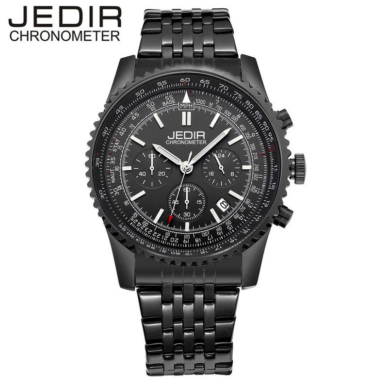 JEDIR Relogio Masculino Stop Watches Military Sports Quartz Day Watch clock Relogio masculino Gift Box Free Ship<br><br>Aliexpress