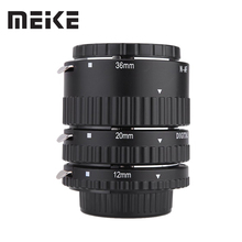 Meike Auto Focus Macro Extension Tube Set Ring N-AF1-B for Nikon D7100 D7000 D5100 D5300 D3100 D800 D600 D300s D300 D90 D80(China)