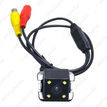 Special Car Backup Rear View Camera With LED For Toyota Camry 2009-2012 Reversing Camera #J-4200
