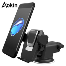 AOKIN 2017 Universal Car Phone Holder Stand Windshield Dashboard Car Mount Holder Sticky Mobile Phones Stand suporte celular(China)