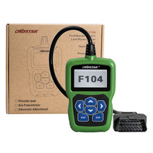 2017 OBDSTAR F104 Car Key Programmer for Chrysler/Jeep/Dodge with Odometer and Pin Code Reader Function Support New Models(China)