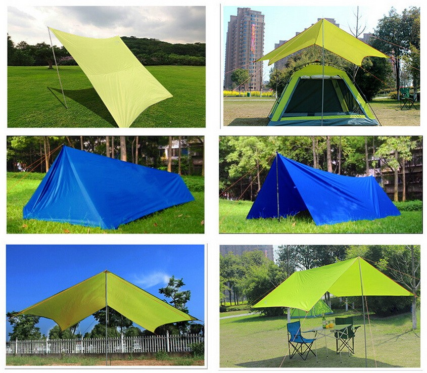 3 m * 4.45 m lightweight waterproof tarp. Oversized tent combination packages. c&ing. Shade tent waterproof outdoor survival : lightweight survival tent - memphite.com
