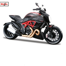 Maisto 1:12 31196 Ducati Diavel Carbon MOTORCYCLE BIKE Model FREE SHIPPING