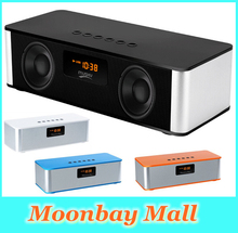 Hot Sale Big Power Wireless Portable Bluetooth Speaker Stereo Heavy Bass USB AUX TF FM Radio Built in Mic Boombox Drop Shipping