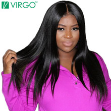 Volys Virgo Hair Company Malaysian Straight Human Hair Bundles Hair Extensions 100% Natural Remy Hair Weave 1 Pc Fuller Ends