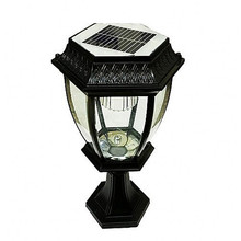 Waterproof Aluminum Bright LED Garden Light Fence Gate Post Light Home LED Solar Light Outdoor Lawn Powered Lamp