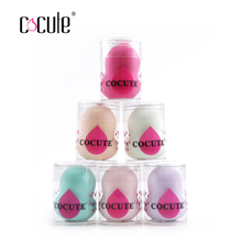 Cocute 1PC Makeup Sponge High Quality Smooth Powder Beauty Cosmetic Puff Make up Blending Tools Grow Bigger in Water Gourd Shape(China)