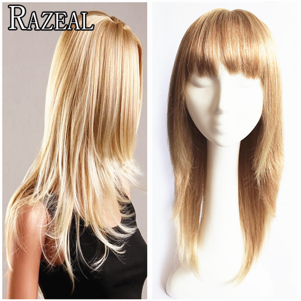 ZAZEAL Prevailing Long Synthetic Wigs For Black Women Ombre Color Blonde Wig Cosplay False Hair Female Wig Free Shipping<br><br>Aliexpress
