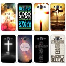 Hot Sale Christian Jesus The Cross Clear Case Cover Coque Shell for Samsung Galaxy J1 J2 J3 J5 J7 2016 2017 Emerge(China)