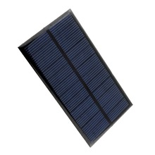 80 pieces Mini 6V 1W Solar Panel Bank Solar Power Panel Home DIY Solar System For Light Battery Phone Toy Chargers