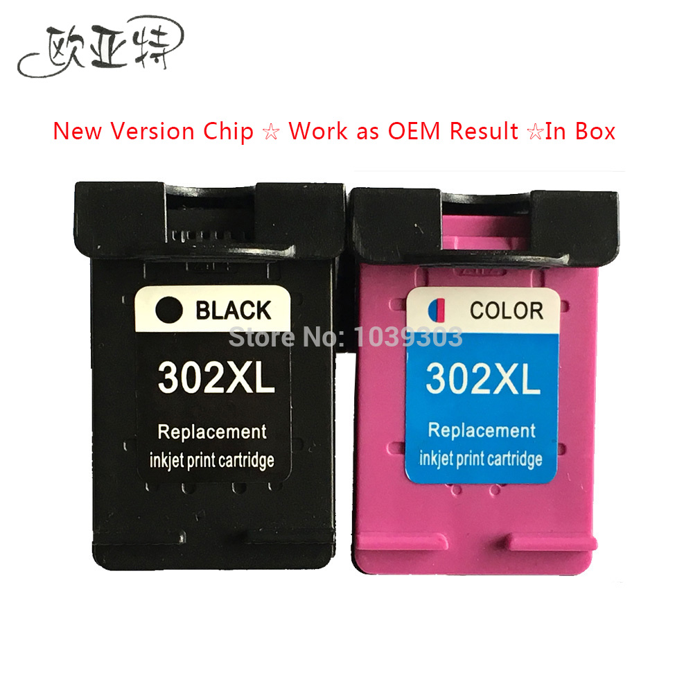 2 x  Compatible HP302 XL Ink Cartridge for HP302XL 302 For For HP ENVY 4520 4521 4522 4523 4524 ENVY 4520 printer ink 302 ns45<br><br>Aliexpress