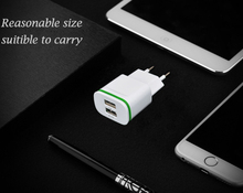 5V 2.1A Travel USB Charger Adapter EU Plug Mobile Phone for Vertex Impress Lotus Luck Saturn Action Alfa +Free usb type C cable(China)