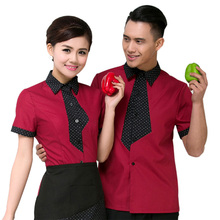 Hot Selling Cook Clothing Food Service Chef Jacket Waitress Waiter Hotel Fast food Uniforms Working Clothes