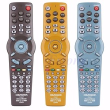 New 2017 arrival 6in1 Learning Universal Remote Control Controller Fr TV CBL DVD AUX SAT AUD Hot Sale