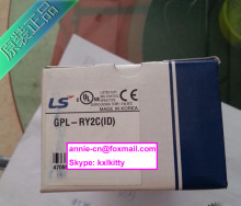 100% New and original GPL-RY2C(ID)  LS(LG)  SMART I/O output module, Profibus communication