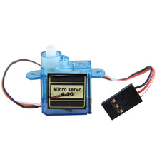 Good Quality MiNi Micro 4.3g Mini Servo for Control Aeromodelling aircraft flight direction Plastic Blue Servos(China)