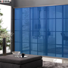clear tint decorative window Mirror film 90x100cm PVC Self-Adhesive glue solar reflective window sticker Hsxuan brand 906503