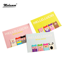 4 Pcs/lot Cartoon Kawaii Stationery Bronze Magnetic Bookmark For Books Mark Clips Office Teacher Gift Kids School Supplies(China)