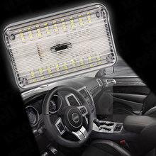 auto led light Car Dome Light 36 SMD LED Roof Rectangular Ceiling Interior Lamp-White