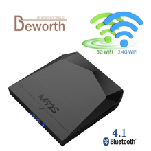 Buy M92S 2GB 16GB Smart TV BOX Android 7.1 Amlogic S912 Octa Core 2.4/5G WiFi 4K H.265 Kodi 17.3 Bluetooth 4.0 Media Player for $60.69 in AliExpress store