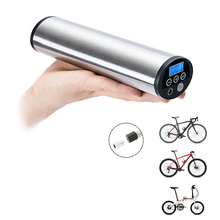 Lixada 150PSI USB Rechargeable Electric Bike Pump Hand-Held Bicycle Air Inflator with Digital Display Tire Pump For Motor Car