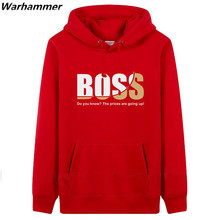 BOSS mens performance hoodies letter printed sportswear hoodies pullover sweatshirt fashion style plus size jacket free shipping