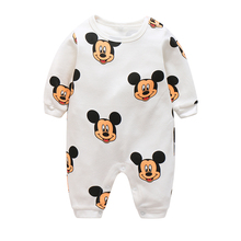 baby clothes new hot long sleeve newborn/infantil/boys/kids 100% cotton boys/girls rompers winter/spring/autumn boy clothing