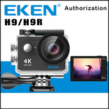 Original EKEN H9 / H9R Remote Action Camera Ultra HD 4K WiFi 1080P/60FPS 2.0 LCD 170D Lens Sport Cam Go WaterProof Pro Camera(China)