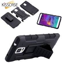KISSCASE Hard PC Armor Cases For Samsung S3 S4 S5 S7 Note 2 3 4 5 A5 A7 Hybrid Phone Case For Samsung Galaxy Note 4 Cases Cover