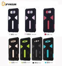A7 2016 A7 2015 NEW Hybrid TPU+PC Hard Armor Case For Samsung Galaxy A7 A710 A700 Plastic Rubber Dustproof plug Phone Back Cover