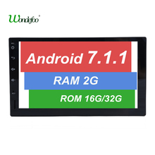"7"" 2 Din 1024*600 Android 7.1 Car Tap PC Tablet 2 din Universal For Nissan GPS Navigation BT Radio Stereo Audio Player 2G No DVD"