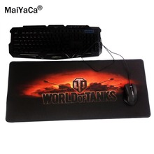 MaiYaCa 30x80cm World of Tanks hot pad to Mouse Notbook Computer Mousepad Popular Gaming Mouse Pad Gamer to Laptop Mouse Mat(China)