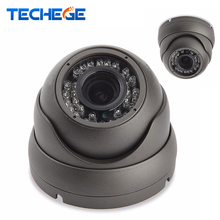 Techege 1080P 48V POE IP camera NIght Vision in/outoor Metal Waterproof Camera HD 2.0MP dome camera P2P ONVIF Motion Detection