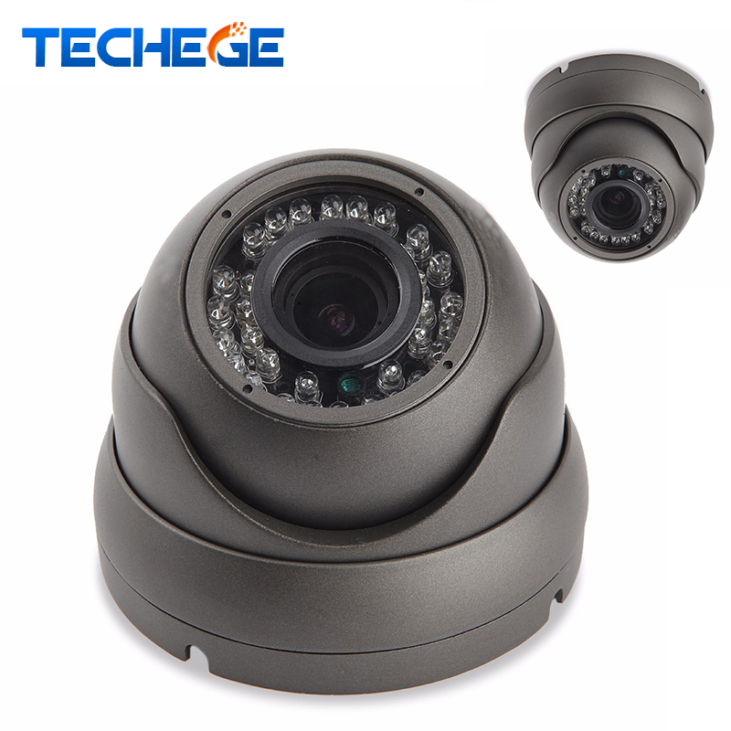 Techege 1080P 48V POE IP camera NIght Vision in/outoor Metal Waterproof Camera HD 2.0MP dome camera P2P ONVIF Motion Detection  <br>